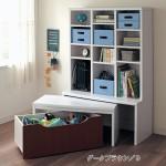 子供部屋:絵本・作品・賞状などの収納グッズ