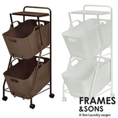 FRAMES&SONS Kline-ランドリーワゴン